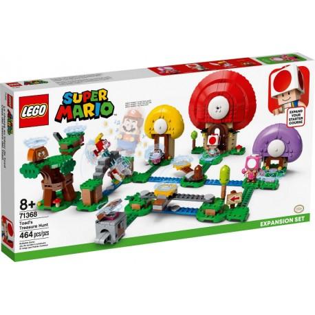 LEGO Super Mario 71368 Set de expansión: Caza del Tesoro de Toad caja