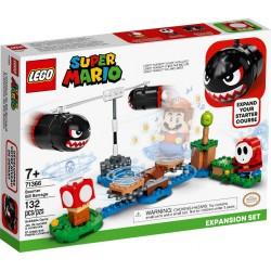 LEGO SUPER MARIO 71366 Set de expansión: Avalancha de Bill Balazos CAJA