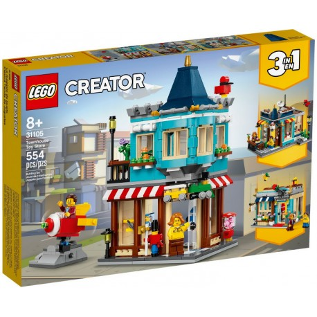 LEGO Creator 31105 Tienda de Juguetes Clásica caja