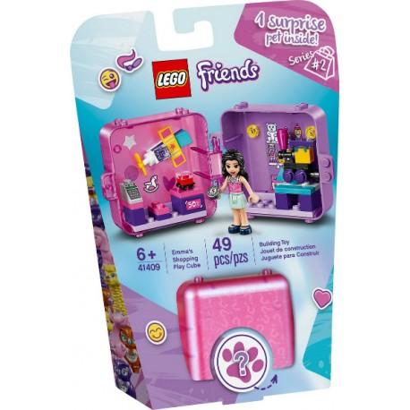 LEGO Friends 41409 Cubo-Tienda de Juegos de Emma caja