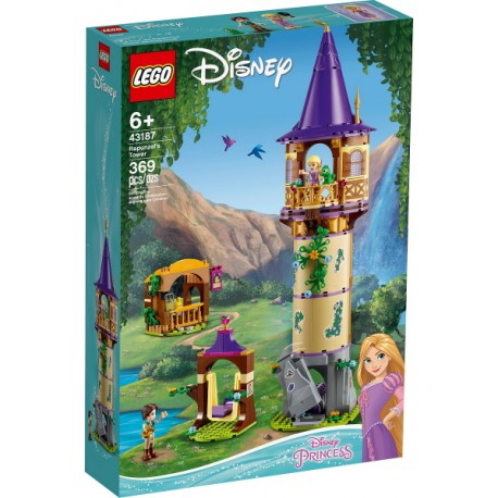LEGO Princesas Disney 43187 Torre de Rapunzel caja