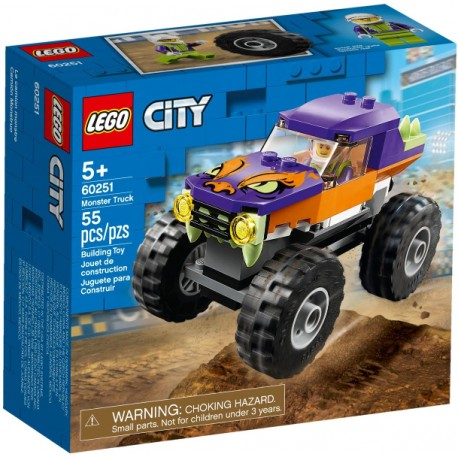 LEGO City 60251 Monster Truck caja