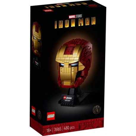 LEGO Marvel 76165 Casco de Iron Man caja