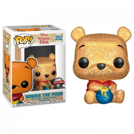 FUNKO POP DISNEY WINNIE THE POOH (252) DIAMOND EXCLUSIVO GLITTER