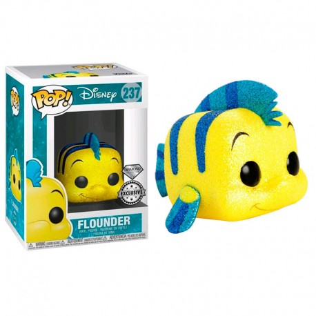 FUNKO POP DISNEY FLOUNDER (237) DIAMOND EXCLUSIVO GLITTER