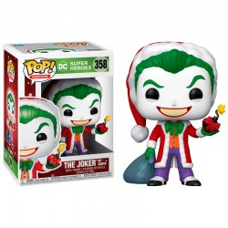 FUNKO POP DC COMICS THE JOKER AS SANTA (358)