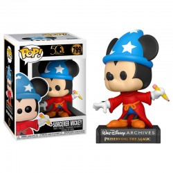 FUNKO POP DISNEY SORCERER MICKEY (799)