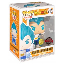 Funko Pop Dragon Ball Z -Vegeta Powering Up (713) Glow in the Dark