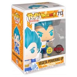 Funko Pop Dragon Ball Z -Vegeta Powering Up (713) Glow in the Dark