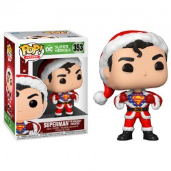 FUNKO POP HEROES DC SUPERMAN IN HOLIDAY SWEATER (353)