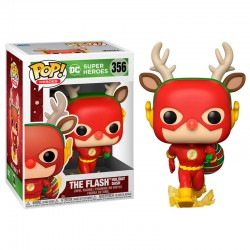 FUNKO POP HEROES DC THE FLASH HOLIDAY DASH (356)