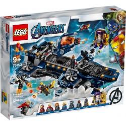 LEGO Marvel 76153 Helitransporte de los Vengadores caja