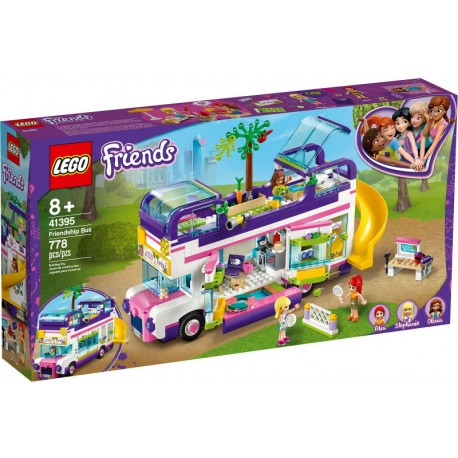 LEGO Friends 41395 Bus de la Amistad caja