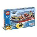 LEGO City 7906 Barco de bomberos