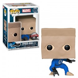 FUNKO POP MARVEL SPIDER-MAN BOMBASTIC BAG-MAN EXC (522)