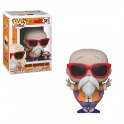 FUNKO POP DRAGON BALL Z MASTER ROSHI PEACE SING EXC (381)