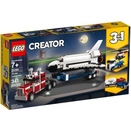 LEGO City 31091 Transporte de la Lanzadera caja