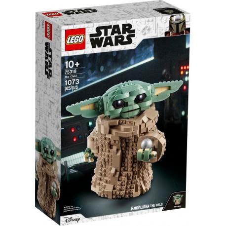 LEGO Star Wars 75318 Baby Yoda caja