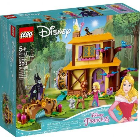LEGO Disney 43188 Cabaña en el Bosque de Aurora caja