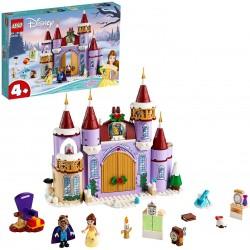 LEGO Princesas Disney 43180 Celebración Invernal en el Castillo