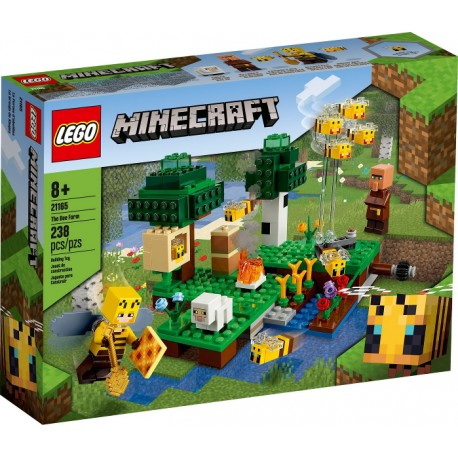 LEGO Minecraft 21165 La Granja de Abejas caja