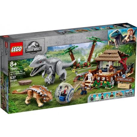 LEGO Jurassic World 75941 Indominus Rex vs. Ankylosaurus caja