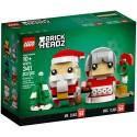 LEGO 40274 BRICKHEADZ MR. AND MRS. CLAUS