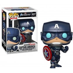 FUNKO POP MARVEL Avengers Game - Captain America (Stark Tech Suit) (627)