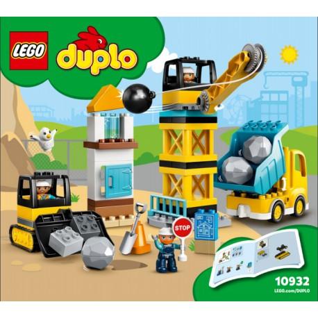 LEGO DUPLO 10932 Derribo con Bola de Demolición caja