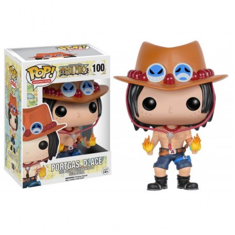 FUNKO POP ANIMATION ONE PIECE - PORTGAS D. ACE (100)