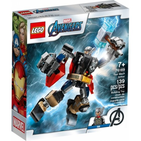 LEGO 76169 Armadura Robótica de Thor
