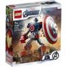 LEGO 76168 Armadura Robótica del Capitán América