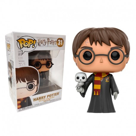 FUNKO POP HARRY POTTER - HARRY POTTER WITH HEDWIG EXC (31)