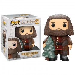 FUNKO POP HARRY POTTER HOLIDAY RUBEUS HAGRID (126)