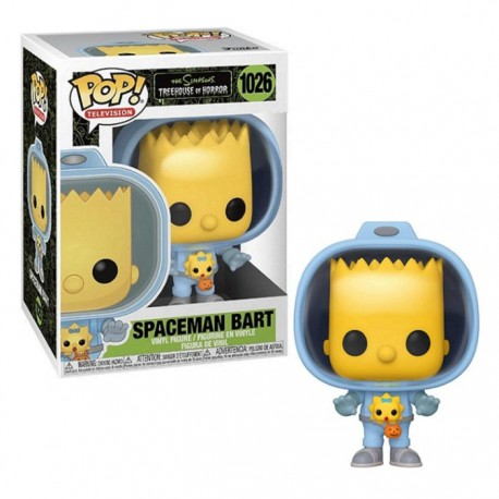 FUNKO POP TELEVISION SIMPSONS SPACEMAN BART (1026)