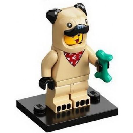 LEGO MINIFIGURAS SERIE 21 PUG COSTUME GUY (DISFRAZ PERRITO)