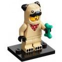 LEGO MINIFIGURAS SERIE 21 PUG COSTUME GUY (DISFRAZ CARLINO)