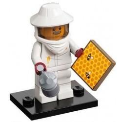 LEGO MINIFIGURAS SERIE 21 BEEKEEPER (APICULTOR)