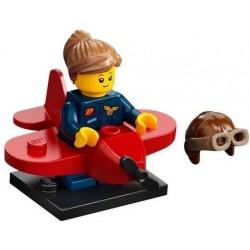LEGO MINIFIGURES SERIE 21 AIRPLANE GIRL