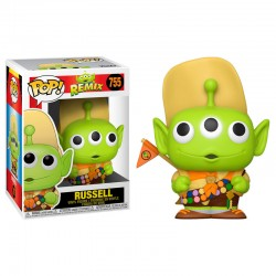 FUNKO POP DISNEY RUSSELL ALIEN REMIX PIXAR (755)