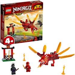 LEGO +4 Ninjago 71701 Dragón de Fuego de Kai