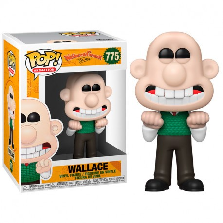 FUNKO POP ANIMATION WALLACE & GROMIT - WALLACE (775)