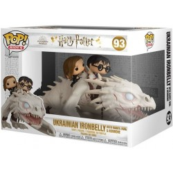 FUNKO POP HARRY POTTER RIDE DRAGON WITH HARRY, RON & HERMIONE (93)