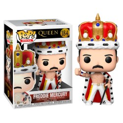 FUNKO POP ROCKS QUEEN FREDDIE MERCURY KING (184)