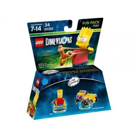 LEGO DIMENSIONS 71211 Fun Pack - The Simpsons (Bart and Gravity Sprinter)