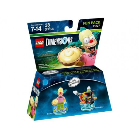 LEGO DIMENSIONS 71227 Fun Pack - The Simpsons (Krusty and Clown Bike)