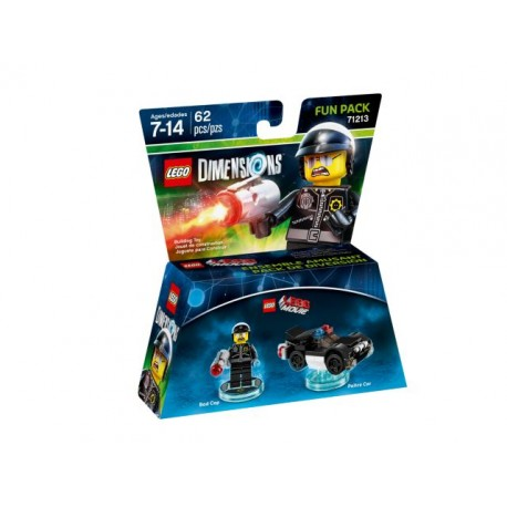 LEGO DIMENSIONS 71213 Fun Pack - The LEGO Movie (Bad Cop and Police Car)