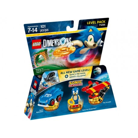 LEGO DIMENSIONS 71244 Level Pack - Sonic the Hedgehog