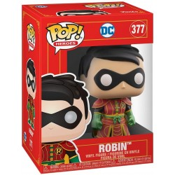 FUNKO POP HEROES DC IMPERIAL PALACE - ROBIN (377)_CAJA