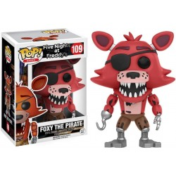 FUNKO POP GAMES FIVE NIGHTS AT FREDDY´S FOXY THE PIRATE (109)
